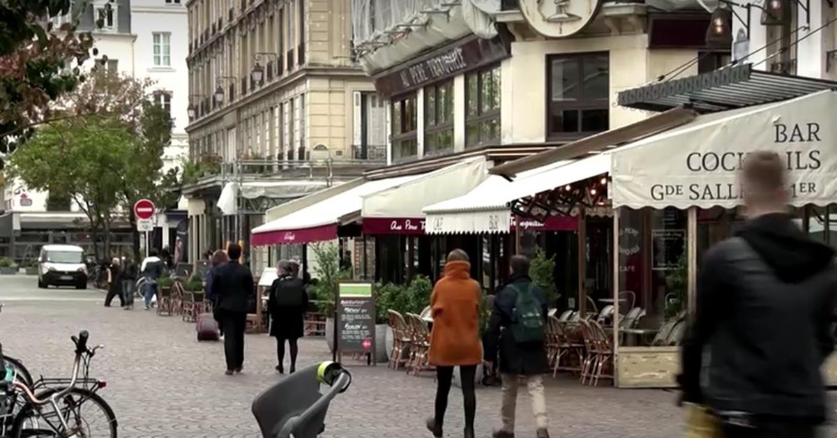 France has a new record high daily infections. Paris-1-2